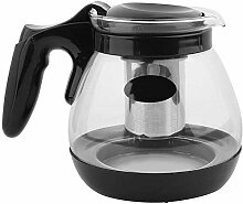 Teekanne Glas Mit Edelstahl Siebeinsatz 1,7Liter