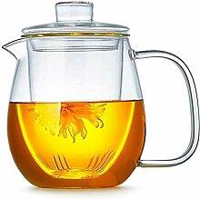 Teekanne Glas Wasserkrug Glas Teekanne mit