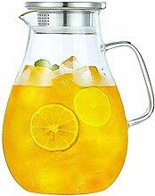 Teekanne Glas Wasserkrug Glas Wasserkessel Krug