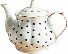 Teekanne im europäischen Stil, handgefertigt,