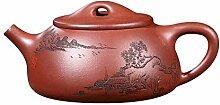 Teekanne japanischer Teekessel aus Gusseisen