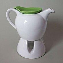 Teekanne Kaffeekanne Stövchen Porzellan Tee