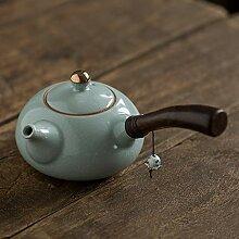 Teekanne Keramik Teekanne Seitengriff Teekanne