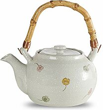 Teekanne Keramik Weiß, Teekanne teebereiter