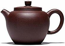 Teekanne lila Ton Teekanne Teetasse Schiff Perltee