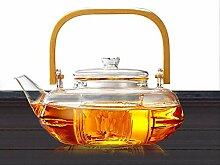 Teekanne mit Glassieb, 800 ml, spülmaschinenfest,
