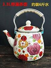 Teekanne mit großem Fassungsvermögen, verdickter