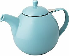 Teekanne mit Sieb 1,3 ltr. türkis
