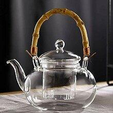 Teekanne mit Teesieb, Glas, 600 ml