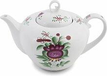 Teekanne, Ostfriesenrose, Maritime Dekoration