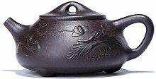 Teekanne Porzellan 220Cc Lila Ton Yixing Teekanne
