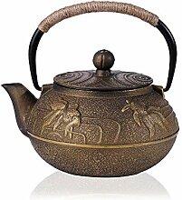 Teekanne Porzellan Gusseisen Teekanne Set Teekanne