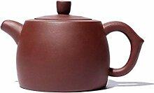 Teekanne Porzellan Lila Ton Teekanne Chinesische