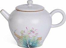 Teekanne Porzellan Teekanne handbemalte Filter
