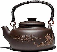 Teekanne Porzellan Teekanne Kung Fu Zisha Teekanne