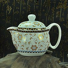 Teekanne Retro Chinesische Kung Fu Porzellan