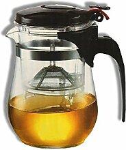 Teekanne Teebereiter als 500 ml Komplettset mit