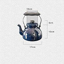 Teekanne Teekanne aus Keramik Emaille-Teekanne 2L
