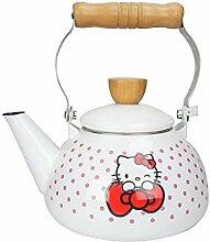 Teekanne Teekanne Wasserkocher Emaille