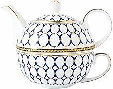 Teekanne Teekessel Teekanne Aus Weißem Porzellan