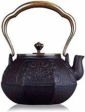 Teekanne Teeservice Gusseiserne Teekanne Teekannen