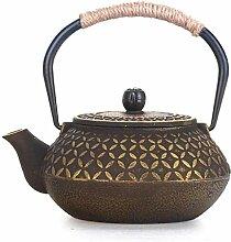 Teekanne Teeservice Teekanne aus Gusseisen