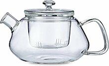 Teekanne tropfrei aus Glas - Nicola Serie