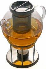 Teekanne und Stövchen aus chinesischem
