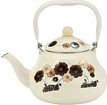 Teekanne/Wasserkessel, Wasserkessel, Emaillierter