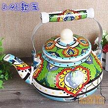 Teekanne Wasserkocher Eigenschaften Handgemalter