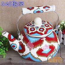 Teekanne Wasserkocher Features Handgemalte Filter