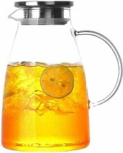 Teekanne Wasserkrug Glas Teekanne Krug mit Deckel