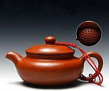 Teekanne Zhu Ni Handgemachte Ton Teekanne Lila