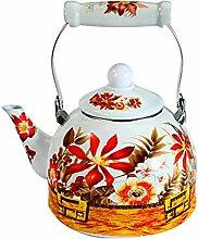 Teekannen 1,5-2,5 L Emaille Wasserkocher