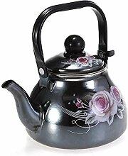 Teekannen 1 Stücke 1.1L Spiegelglasur Emaille