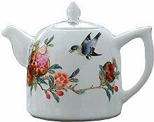 Teekannen 300Cc Chinesischen Stil Porzellan