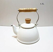 Teekannen Emaille Wasserkocher Pfeife Topf Genannt