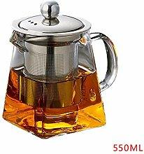 Teekannen Hitzebeständige Glas Teekanne Mit