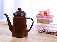 Teekannen Kaffeeservice Emaille Kaffeekanne