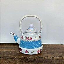 Teekannen Kaffeeservice Milk Teekanne Emaille
