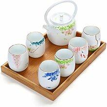 Teekannen Kapazität Keramik Tee-Sets Teekanne Tee