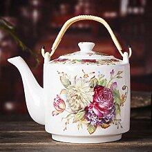 Teekannen Keramische Teekanne Große Kapazität