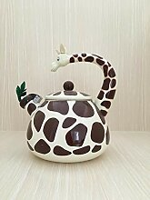 Teekannen Kreative Emaille 2.8L Giraffe Topf