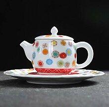 Teekannen Porzellanteekanne Teekanne aus Keramik