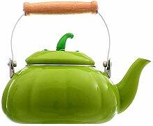 Teekannen Täglicher Kürbis Der Wärmflasche Nach