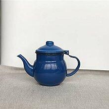 Teekannen Teapot Wasserkrug Emaille Sojasauce Pot