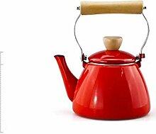 Teekannen Teapot Wasserkrug Emaille-Wasserkocher