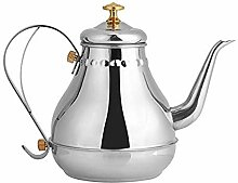 Teekannen Teekanne aus Edelstahl Edelstahl