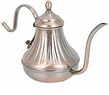Teekannen Teekanne aus Edelstahl Teekanne Bronze