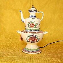 Teekannen Tibetische Butter Elektro Topf Set